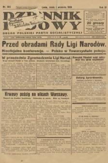 Dziennik Ludowy : organ Polskiej Partji Socjalistycznej. 1926, nr203