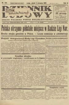 Dziennik Ludowy : organ Polskiej Partji Socjalistycznej. 1926, nr205