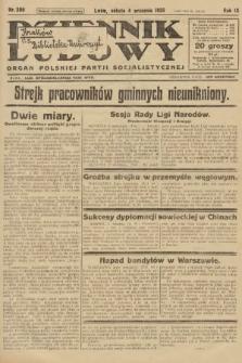 Dziennik Ludowy : organ Polskiej Partji Socjalistycznej. 1926, nr206