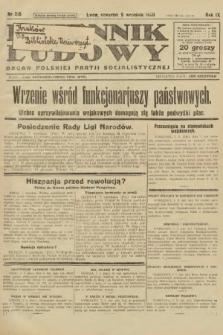 Dziennik Ludowy : organ Polskiej Partji Socjalistycznej. 1926, nr210