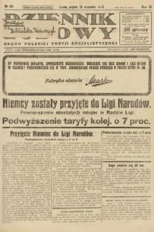 Dziennik Ludowy : organ Polskiej Partji Socjalistycznej. 1926, nr211