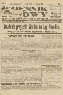 Dziennik Ludowy : organ Polskiej Partji Socjalistycznej. 1926, nr212