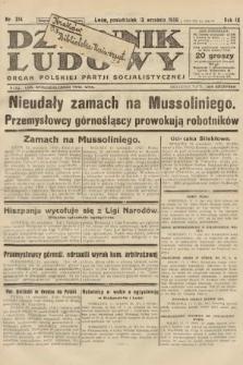Dziennik Ludowy : organ Polskiej Partji Socjalistycznej. 1926, nr214