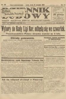 Dziennik Ludowy : organ Polskiej Partji Socjalistycznej. 1926, nr215