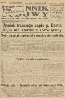 Dziennik Ludowy : organ Polskiej Partji Socjalistycznej. 1926, nr230