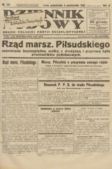 Dziennik Ludowy : organ Polskiej Partji Socjalistycznej. 1926, nr232