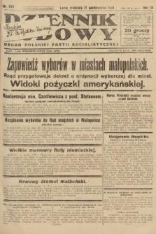 Dziennik Ludowy : organ Polskiej Partji Socjalistycznej. 1926, nr243