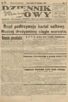 Dziennik Ludowy : organ Polskiej Partji Socjalistycznej. 1926, nr270