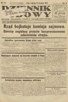 Dziennik Ludowy : organ Polskiej Partji Socjalistycznej. 1926, nr272