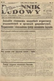 Dziennik Ludowy : organ Polskiej Partji Socjalistycznej. 1926, nr277