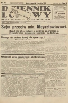 Dziennik Ludowy : organ Polskiej Partji Socjalistycznej. 1926, nr281