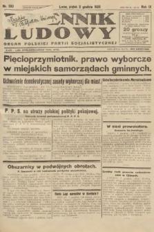 Dziennik Ludowy : organ Polskiej Partji Socjalistycznej. 1926, nr282