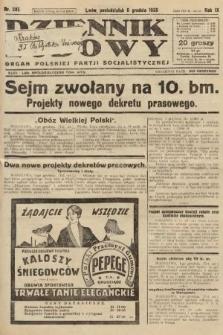Dziennik Ludowy : organ Polskiej Partji Socjalistycznej. 1926, nr285