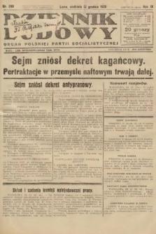 Dziennik Ludowy : organ Polskiej Partji Socjalistycznej. 1926, nr289