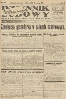 Dziennik Ludowy : organ Polskiej Partji Socjalistycznej. 1926, nr293