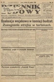 Dziennik Ludowy : organ Polskiej Partji Socjalistycznej. 1926, nr294