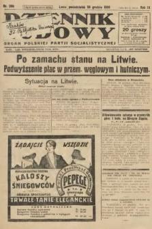 Dziennik Ludowy : organ Polskiej Partji Socjalistycznej. 1926, nr296