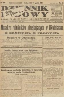 Dziennik Ludowy : organ Polskiej Partji Socjalistycznej. 1926, nr299