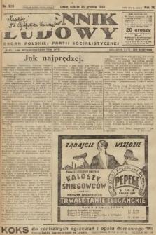 Dziennik Ludowy : organ Polskiej Partji Socjalistycznej. 1926, nr300
