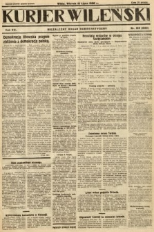 Kurjer Wileński : niezależny organ demokratyczny. 1930, nr160