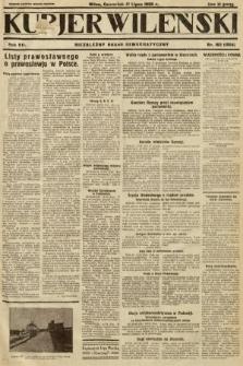 Kurjer Wileński : niezależny organ demokratyczny. 1930, nr162