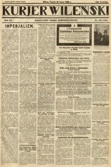 Kurjer Wileński : niezależny organ demokratyczny. 1930, nr163