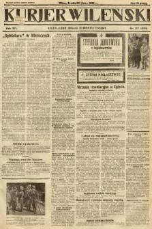 Kurjer Wileński : niezależny organ demokratyczny. 1930, nr167