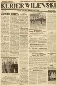 Kurjer Wileński : niezależny organ demokratyczny. 1930, nr190
