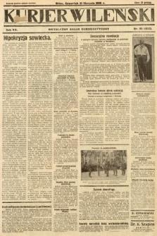 Kurjer Wileński : niezależny organ demokratyczny. 1930, nr191