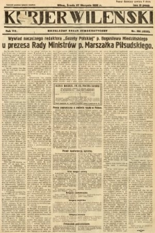 Kurjer Wileński : niezależny organ demokratyczny. 1930, nr196