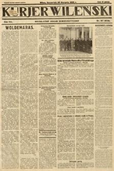 Kurjer Wileński : niezależny organ demokratyczny. 1930, nr197