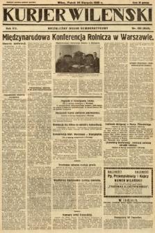 Kurjer Wileński : niezależny organ demokratyczny. 1930, nr198