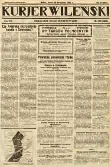 Kurjer Wileński : niezależny organ demokratyczny. 1930, nr208