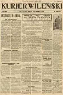 Kurjer Wileński : niezależny organ demokratyczny. 1930, nr209