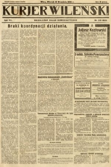 Kurjer Wileński : niezależny organ demokratyczny. 1930, nr213