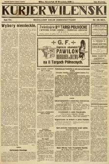 Kurjer Wileński : niezależny organ demokratyczny. 1930, nr215