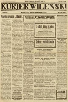 Kurjer Wileński : niezależny organ demokratyczny. 1930, nr216