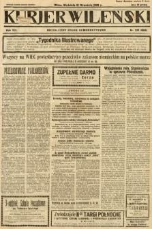 Kurjer Wileński : niezależny organ demokratyczny. 1930, nr218