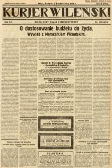 Kurjer Wileński : niezależny organ demokratyczny. 1930, nr230