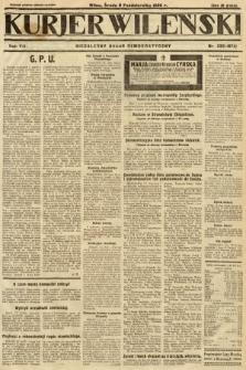 Kurjer Wileński : niezależny organ demokratyczny. 1930, nr232