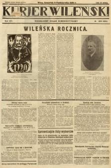 Kurjer Wileński : niezależny organ demokratyczny. 1930, nr233