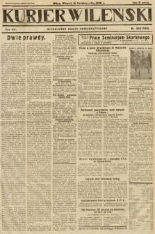 Kurjer Wileński : niezależny organ demokratyczny. 1930, nr243