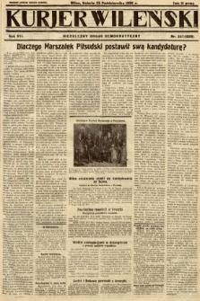 Kurjer Wileński : niezależny organ demokratyczny. 1930, nr247
