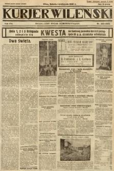 Kurjer Wileński : niezależny organ demokratyczny. 1930, nr253