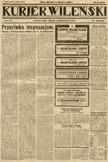 Kurjer Wileński : niezależny organ demokratyczny. 1930, nr254