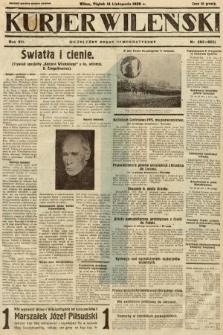 Kurjer Wileński : niezależny organ demokratyczny. 1930, nr263