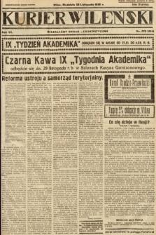 Kurjer Wileński : niezależny organ demokratyczny. 1930, nr272