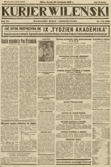 Kurjer Wileński : niezależny organ demokratyczny. 1930, nr274