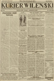 Kurjer Wileński : niezależny organ demokratyczny. 1930, nr276