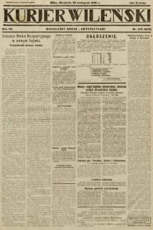 Kurjer Wileński : niezależny organ demokratyczny. 1930, nr278